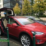 Tesla Model X Budapesten - Everda.hu