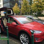 Tesla Model X Budapesten – Everda.hu
