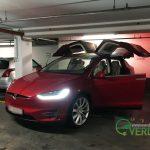 Tesla Model X in Budapest - Everda.hu