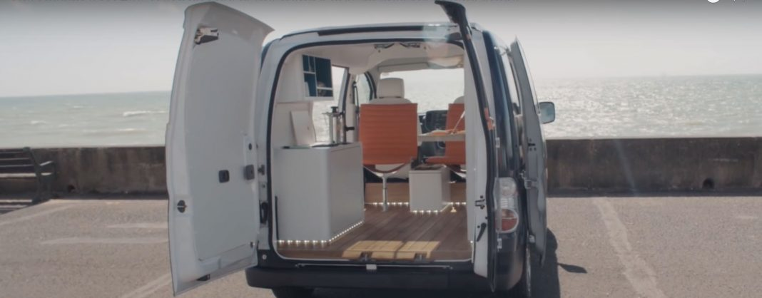 Nissan e-NV200 WORKSPACe / everda.hu