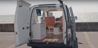 Nissan e-NV200 WORKSPACe / everda.hu